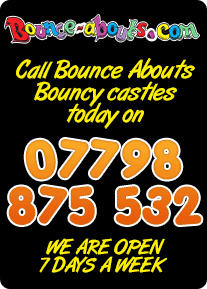 Bouncy Castle Hire Ireland - 07798 875 532
